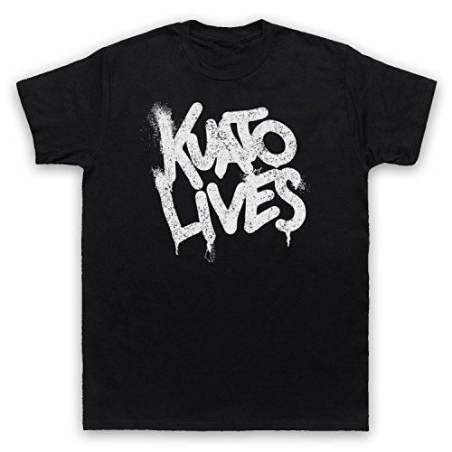Inspiriert durch Total Recall Kuato Lives Unofficial Herren T-Shirt Schwarz