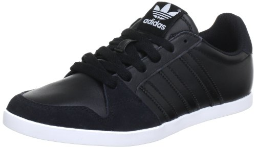 adidas Originals Adilago Low, Baskets mode homme Noir (Schwarz (BLACK 1 / BLACK 1 / RUNNING WHITE FTW))