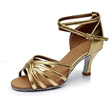 JT - Zapatillas de Material Sintético para mujer Dorado dorado, color Dorado, talla 41
