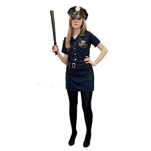 y Damen Erwachsene Polizei Frau Kostüm (Erwachsenen Cop Gürtel)