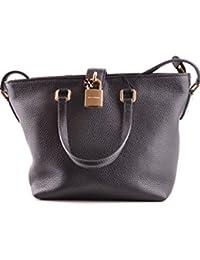 Dolce E Gabbana Mujer MCBI099376O Negro Cuero Bolso Tipo Shopper