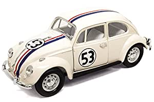 The Lucky Volkswagen Herbie 124 Diecast Vw Beetle Coccinelle Love b76IYfgyv