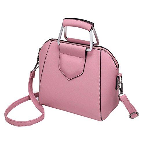 Borse Sacchetti Di Modo Borse Borsa Borsa Del Messaggero Della Spalla Di Stile Europeo E Americano Pink