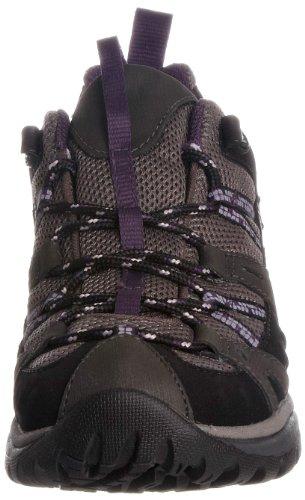 Merrell Siren Sport, Women's Lace-Up Hiking Shoes – Multicolor (Black/Perfect Plum), 9 UK