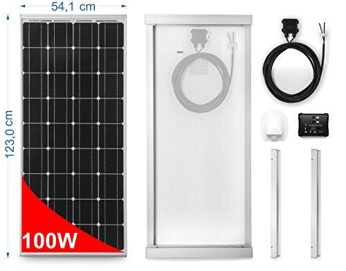 Panneau solaire 100W 12V Monoscritallin pour Camping Car