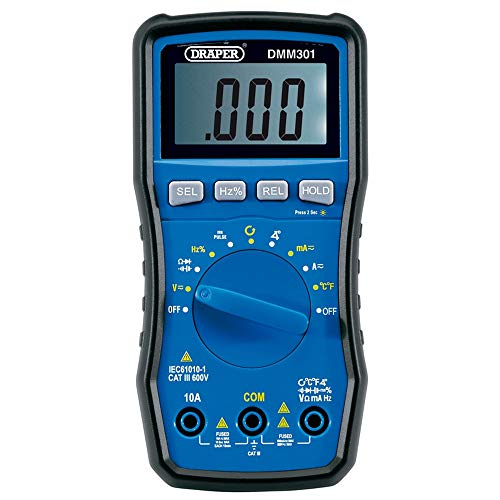 DRAPER dmm301 Automotive Digital Multimeter, blau Automotive Digital-multimeter