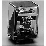 Fixate Gel Pads R10-5D10-12 Series R10 en el uso general del relé AC, NO configuración de contacto, 10 amperios, 12 VDC