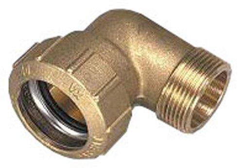 PE-Rohr-Verbindung Winkelform, 1,9 cm (0,75 Zoll)x1,9 cm (0,75 Zoll)x25 mm