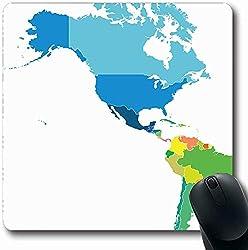 Mousepad Mousemat Ozeanien Kartographie Karte Australien Hauptstadt Bezeichnung Auf Land Abstrakte Stadt Commonwealth Form rutschfeste Gaming-Mausunterlage 25X30CM