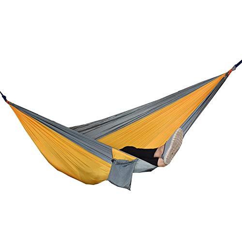 AYUE® Camping Hängematte | 300kg Tragfähigkeit, (270 x 140 cm) Atmungsaktives, Schnell Trocknendes Fallschirm-Nylon
