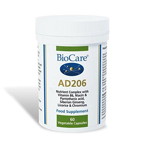 Biocare AD 206 (Nebennieren-Unterstützung mit Apfel-Extrakt) 60 Kapseln -