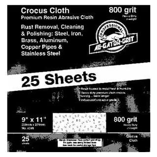 Ali Ind. 03294 Bulk Crocus Cloth Pack of 25
