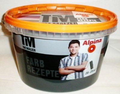 ALPINA Farbe Tim Mälzer Farbrezepte 2,5 L, Dunkle Eleganz