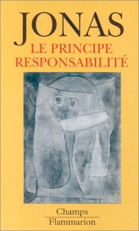 Le Principe responsabilité : une éthique pour la civilisation technologique par Hans Jonas