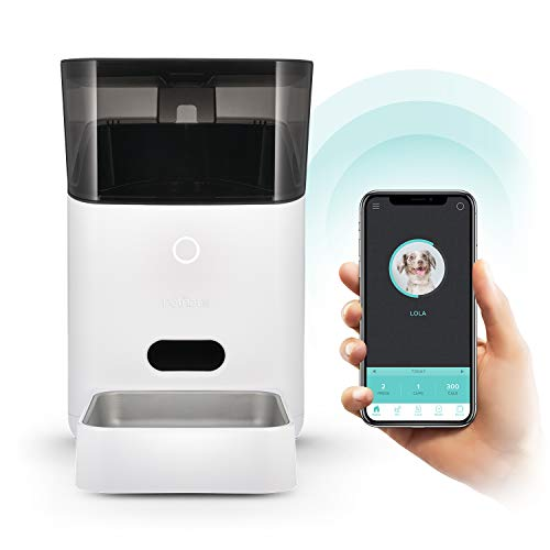 Petnet SmartFeeder® (2nd generation) - Automatic Wi-Fi Pet Feeder with Personalized Portions for Cats and Dogs - App for Android, iOS and Compatible with Alexa