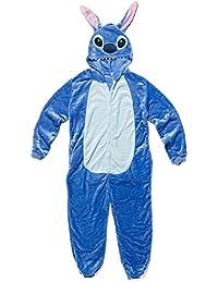 Katara - Combinaison mignonne, pyjama kigurumi pour cosplay, costume unisex pelucheux pour adultes, grenouillère pour Mardi Gras, Halloween ou carnaval - plusieurs styles et tailles disponibles
