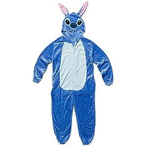 Katara (10+ Modelos) Kigurumi Pijamas Disfraz Animal Halloween Adultos Lilo & Stitch Talla 165-175cm