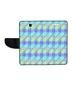 KolorEdge Printed Flip Cover For Gionee Pioneer P4 Multicolor -(45KeMLogo12487GioneeP4)