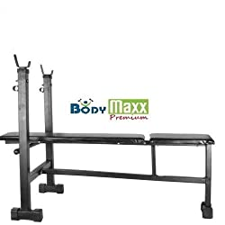 Body Maxx Multi Purpose 3 IN 1 Bench Press (Incline + Decline + Flat Bench) Box Pack For Home Gym Exercises