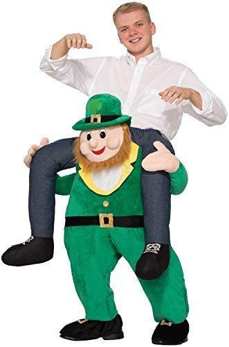 Für Erwachsene Kostüm Patrick - Erwachsene Schritt Kobold Irisch Irland St.Patrick's Day Celebration Junggesellenabschied Abend Party Kostüm Kleid Outfit