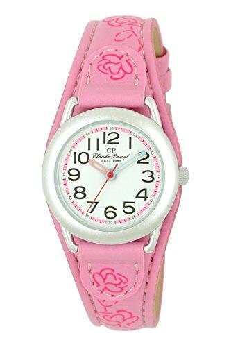 Claude Pascal, Kinderuhr, Mädchen, Aluminium, pink Armbanduhr