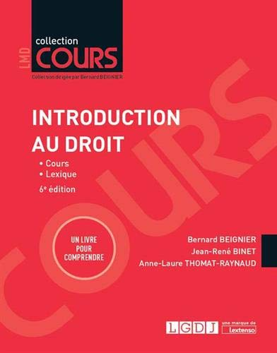 Introduction au droit par Bernard Beignier