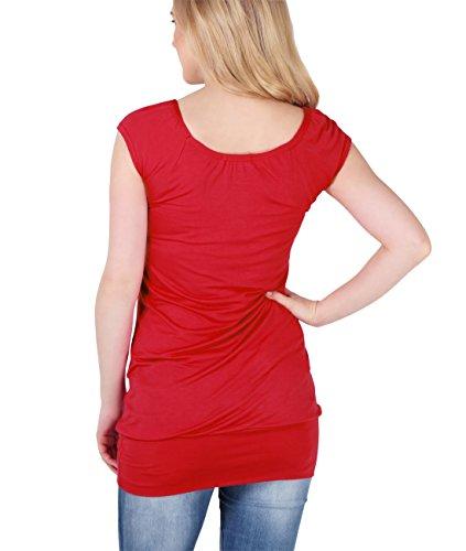 KRISP® Umstandsmode Damen Shirt Rot (7604)