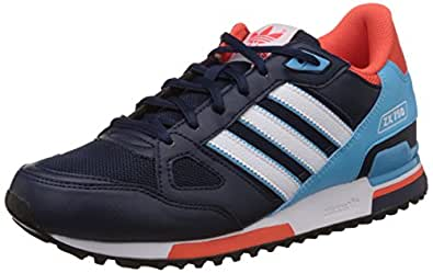 adidas Originals Men's Zx 750 Blue and White Running Shoes - 9 UK