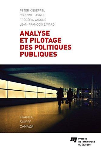Livre gratuits Analyse et pilotage des politiques publiques: France, Suisse, Canada epub pdf