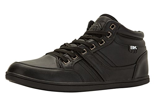 British Knights RE-STYLE MID HERREN HIGH-TOP-SCHUH SNEAKER NOIR/NOIR