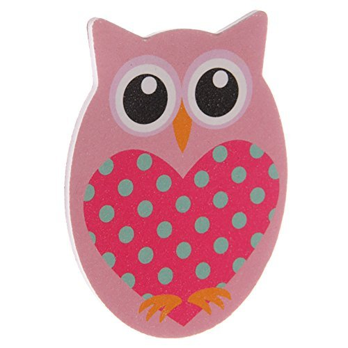Cute Colourful Owl Kids Hair Brush by Puckator
