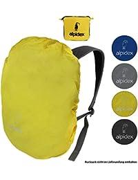 e1d8730ab7 ALPIDEX Protezione antipioggia per zaino NO RAIN, parapioggia in misure e  colori vari, per zaini di tutte le marche, con fermacorda e custodia…