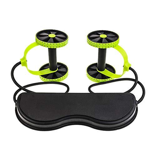 LL-SUNGIRL Folding Bauch Rad, multifunktionales Silent Bauch Rad, zu Hause erweitern Fitnessgeräte, Männer und Frauen Trainings-Gymnastik-Muskel