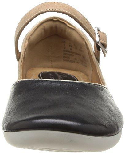 Clarks Feature Film, Chaussures de ville femme Noir (Black Leather)