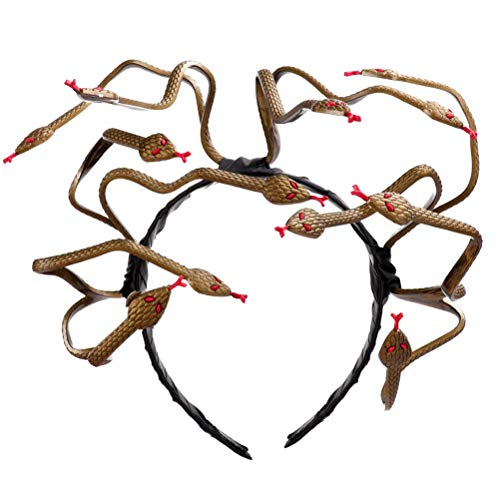 Cosplay Kostüm Medusa - Medusa Schlange Kopfschmuck Stirnband Cosplay Kostüm Stirnband Halloween Kopfschmuck Anzieh Kopfschmuck für Karneval Karneval Maskerade Partei
