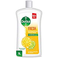 Dettol Fresh Anti-Bacterial Liquid Hand Wash 1L - Citrus & Orange Blossom