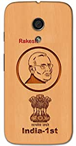 Aakrti Back cover With Narendra Modi's India's 1st Revolution Printed on Smart Phone Model : Google Huawei 6P.Name Rakesh (Lord Of Night ) replaced with Your desired Name