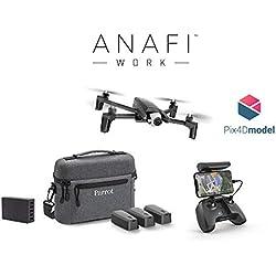 Parrot - Drone 4K - Anafi Work - Pack Pro Complet Nomade - Caméra 4K HDR 21 MP Orientation à 180° et Zoom sans Perte - Logiciel de Modélisation 3D - Le drone ultra-compact pour tous les professionnels