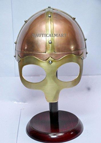 ikinger Helm Armor geflügelten Norman Helm vollständig tragbar Kostüme (Geflügelte Kostüme)