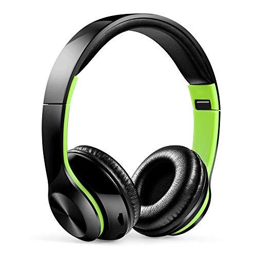 wangli Neue Mehrfarbenkopfhörer Die Drahtlosen Bluetooth Kopfhörer-Karten-Musik-Sport FM Universal Falten,D (Drahtlosen Fm-bluetooth)