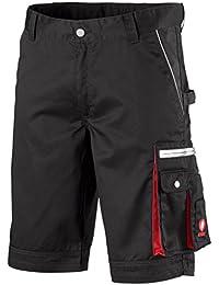Krähe Kurze Arbeitshose Modern Plus Pro – Hose mit Mehrwert, Sommer geeignet, 9 Taschen, Verstellbarer Bund