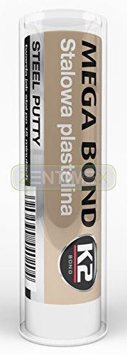 Zweikomponenten Stahlplastilin Stahlknetmasse Epoxid-Masse Epoxid-Harz Reparatur-Knetmasse Knetmetall Eisen Stahl Aluminium Kupfer Bronze Holz Messing 60g