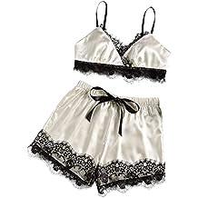 LILICAT✈✈ Mujer Sexy Conjuntos Conjunto de lencería Mujer, Ropa Interior Ropa De Encaje