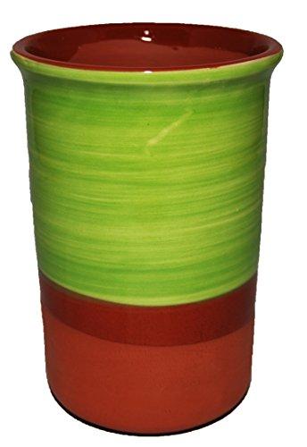 Keramik-Weinkühler, Spanischer Stil, Pistazie