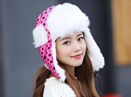 Winter Women Nylon Russian Style Winter Ear Flap Hat
