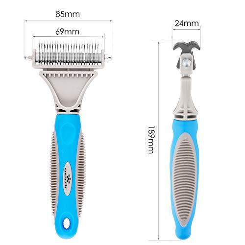 Zoom IMG-2 osazic toelettatura spazzola professionale attrezzi
