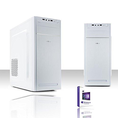 Pc desktop intel quad core con licenza windows 10 pro 64 bit/hd 1tb/ram 8 gb ddr4 /wifi 300mbps/ entrate hdmi-dvi-vga/usb 3.0,2.0,audio,video,lan/pc fisso completo,ufficio,casa,scuola, social network