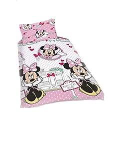 Disney Minnie Mouse Café rotatif unique ensemble de literie