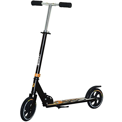 Best Sport Kinder Scooter Mit Abec-5 93-102 Cm Scooter, weiß/orange, M, 2307276