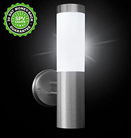 Oscar Extreme Solar Wall Light by SPV Lights: The Solar Lights & Lighting Specialists (Free 2 Year
